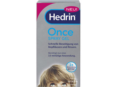 HEDRIN Once Spray Gel