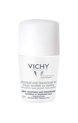 VICHY DEO Roll-on Sensitiv Anti Trans.48h Doppelp.