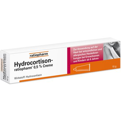 HYDROCORTISON-ratiopharm 0,5% Creme